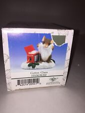 "Charming Tails ""Cotton Claus"" By Fitz And Floyd 98/222"