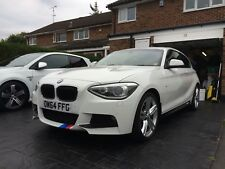 "Genuine bmw 1 series m sport f20 18""AlloyWheels & Continental Winter Tyres"