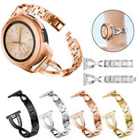 Rhinestone For ASUS Zenwatch WI500Q /2nd WI501Q 49mm Stainless Steel Band Strap