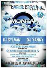 Monta Musica Dance Control Round  5.  Sat 6th Sept 2014