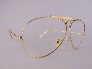 Vintage B&L Ray Ban Shooter Eyeglasses Frames Men's Medium Made in USA