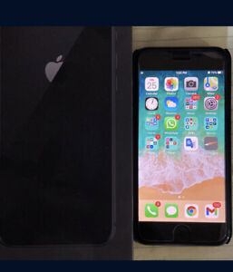 IPhone 8 64GB Unlocked - Black (can use With Any Carrier), verizon, at&t,