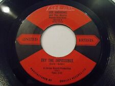 Lee Andrews And The Hearts Try The Impossible / Nobody's Home 45 Vinyl Record