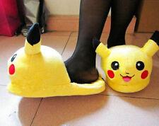 Pikachu Character Shoe Pokemon Plush Slipper Nintendo Slippers Cartoon Shoes