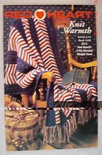New ListingKnit Warmth - Coats & Clark 1428 - 6 Knit Patterns