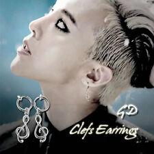 BigBang GD Gdragon Clefs Earrings KPOP Style Made In Korea Hot Item 1Pair