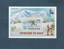 Niger  bloc jeux olympiques de Lake Placid  1979  num:  27  **