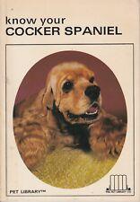 COCKER SPANIEL (Know Your) **GOOD COPY**