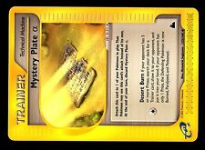 POKEMON SKYRIDGE UNCO (ENGLISH CARD) CARTE N° 133/144 MYSTERY PLATE ALPHA