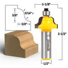 38 Roman Ogee Edge Forming Router Bit 12 Shank Yonico 13187