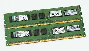 Kingston 8GB(1x8GB,NOT Kit) KTH-PL316EK4/32G DDR3-1600 ECC/UnBuffered *test*MORE