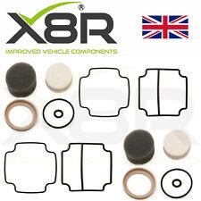 Range Rover P38 Eas Aria Sospensione Compressore Guarnizione Pompa Kit Doppio X2