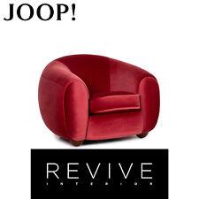 Joop! Bob Samt Sessel Rot Pink #13715
