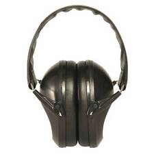 Mil-Tec Compact Folding Safety Ear Defenders Muffs Hearing Protection Black NEW