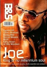 Joe on Magazine Blues & Soul Magazine Cover 2001   Luther Vandross   Marley Marl