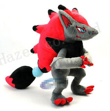 Pocket Monster Pokemon Zoroark 12'' Short Plush PP Cotton Stuffed Toys