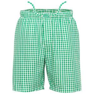 Ritzy Men's Sleep Short Pajama 100% Cotton Woven Plaid ComfortSoft - B&B Checks