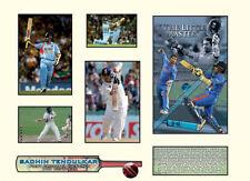 New Sachin Tendulkar India Cricket Limited Edition Memorabilia Framed