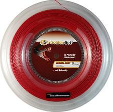 GSI Snake-Bite 17 red tennis string - 660ft Reel