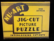 NU-ART Jig Picture Puzzle THE RETURN OF THE TREASURE SHIP jigsaw puzzles 1930's