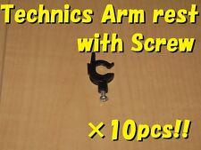 10pcs Technics SL-1200/1210 mk2/3/4/5/6 Tonearm arm rest with screw BrandNew