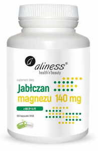 ALINESS Magnesium Malat + Vitamin B6 P-5-P 100 Kaps VERSAND WELTWEIT