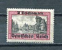 Germany 1939 Overprint 2m MNH Mi 729 Thick Paper 8823