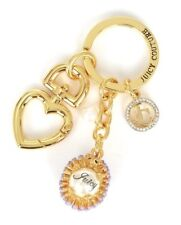 Juicy Couture Hedgehog Key Ring fob Purse Charm NEW