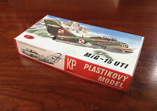Rare - Plastikovy Model/Maquette - MIG-15UTI 1/72 -Made in Czechoslovakia 1970's