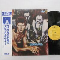 DAVID BOWIE - Diamond Dogs LP 1982 JAPAN RCA RPL-2104 IGGY POP T REX GLAM w/ obi