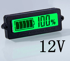 12V Lead-Acid Battery TH01 LY6N Battery Capacity Indicator Tester Voltmeter 5mA
