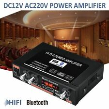 Home And Vehicle Auto Turning Bluetooth Amplifiers Stereo Sum-woofer With Remote