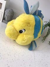 Disney The Little Mermaid Flounder Ariel Soft Toy Plush