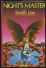 Fiction: NIGHT'S MASTER by Tanith Lee. 1984.Slipcased hardcover, signed, limited