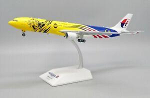 JC Wings 1:200 Malaysia Airlines A330-300 'Negaraku Harimau Malaya' 9M-MTG