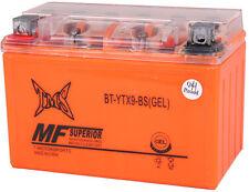 GEL ATV Battery YTX9-BS for Honda TRX 300EX 400EX Fourtrax Sportrax LTZ400 250