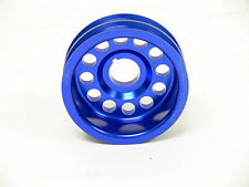 OBX Blue Crank Pulley For 93 To 95 Mazda 626 MX6 93 To 97 Ford Probe 2.0L