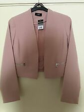 Wallis Splendido Blush tasca con zip Blazer 14