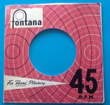 Ten  Replicas Of An Early Fontana Label, Company Record Sleeve, Pack Of 10
