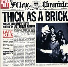 Thick As A Brick - Jethro Tull (1999, CD NUOVO)