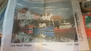 printed tapestry canvas the craft collection East Neuk Village preowned