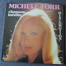 Michele Torr, discomotion, LP - 33 tours