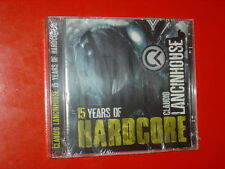 CLAUDIO LANCINHOUSE 15 YEARS OF HARDCORE-2CD 18+18 TRK NEW SEALED SIGILLATO