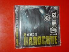 CLAUDIO LANCINHOUSE 15 YEARS OF HARDCORE-2CD 18+18 TRK NEW SEALED SIGILLATO