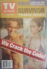 CBS Survivor Thailand TV Guide (Sep 28-Oct 26 2002)