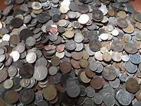 350 world british English Coins.big bulk lot mixed coins
