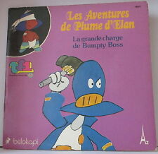 Livre-Disque vinyle LES AVENTURES DE PLUME D'ELAN 1979. DV227