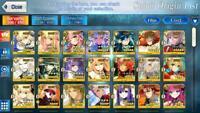 FGO Endgame Account 10 SSR Merlin Tama Altria Heroine Flo Melt 36 SQ 10 tickets