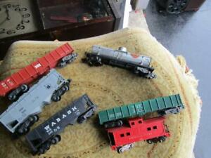 American Flyer Vintage Lot  Rolling Stock Lot of  6 Cars    #1