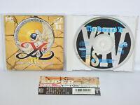 PC-Engine SCD YS IV 4 with SPINE * Grafx Japan Game pe